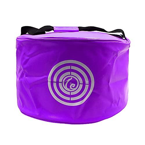 KYTAI Golf Smash Bag Impact Swing Trainer Thicker Waterproof Power Hitting Bag for Swing Speed Training (Purple)