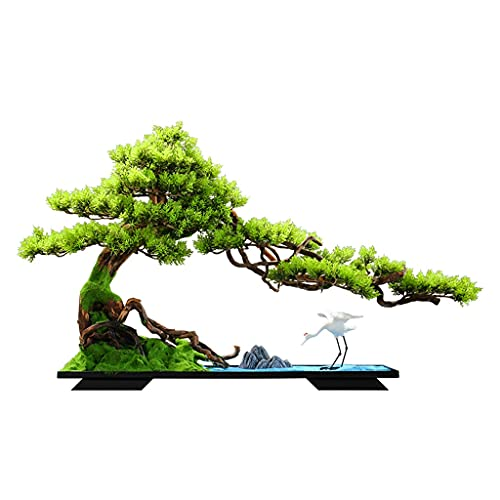 árbol bonsai artificial Árbol de Bonsai Artificial Árbol Cerámica Cerámica Cerámica Cerámica Y Azul Arena Fina Decoración de Escritorio Utilizado para sala de estar y decoración de oficina Plantas y f