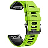 NotoCity Correa Compatible con Fenix 6X Easy Fit 26 mm Pulsera de...