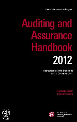 Auditing and Assurance Handbook 2012: Incorporating all the Standards as at 1 December 2011
