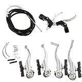 P Prettyia 1 Kit de Palanca de Freno para Bicicletas Hecho de Aleación de Aluminio y Plástico