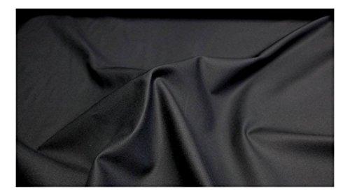 Fabrics-City % SCHWARZ EDEL BAUMWOLLE STOFF BAUMWOLLSTOFF 100%BAUMWOLLE STOFFE, 3018