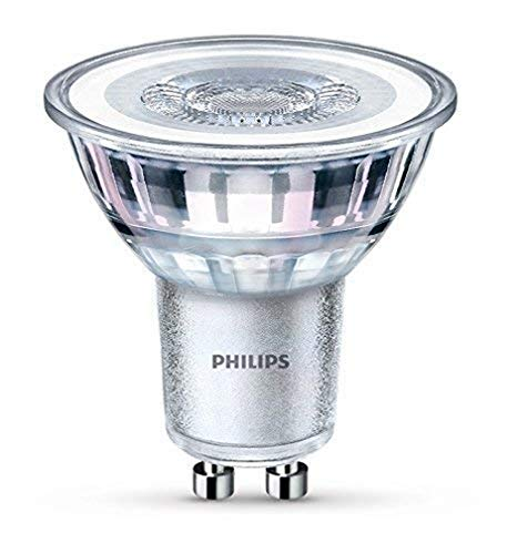 Philips 8718696562741 A++, LED-Leuchtmittel, Glas, 4,6 W, GU10, silber, 5 x 5 x 5,3 cm
