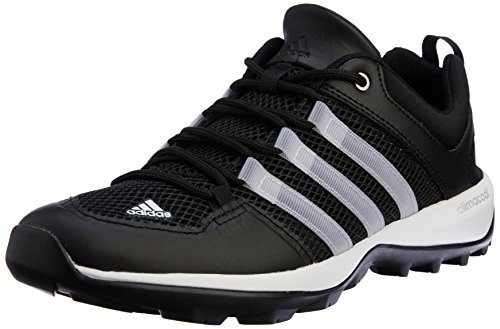 adidas adidas Unisex-Erwachsene Daroga Plus Trekking-& Wanderschuhe, Schwarz (Core Black/Chalk White/Silver Met, ) 42 2/3 EU