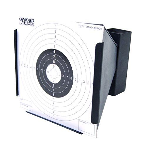 SWISS ARMS Cible métal conique pour Airsoft 6mm ou Airguns 4,5 mm