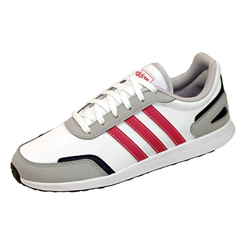 adidas Unisex-Child VS Switch 3 K Running Shoe, FTWWHT/POWPNK/Legink,37 1/3 EU