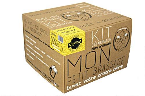 Mon Petit Brassage - Kit Brassage Biere - Weissbier - Recette allemande - Mode d'Emploi FR/EN - Biere artisanale pour brasser a la maison