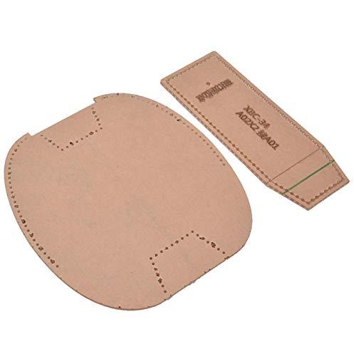 Klare Acryl-Schablonen-Set, Brieftasche Acryl-Schablone für Zigarettenanzünder-Beutel DIY Notebook Cover Template-Set
