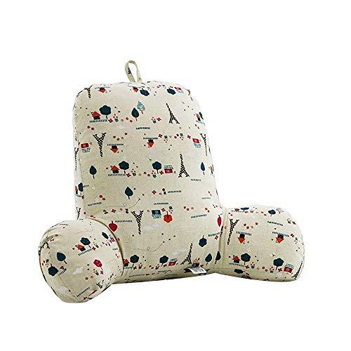 YK.Hapyshop Hohe Qualität Comfort Lesekissen Gefüllte Rückenkissen und Keilkissen Waschbare Abdeckung Stabile Armstützen- Lesen Lounge oder Arbeit im Bett,Das für Kinde rUm die Stimmung des Babys.