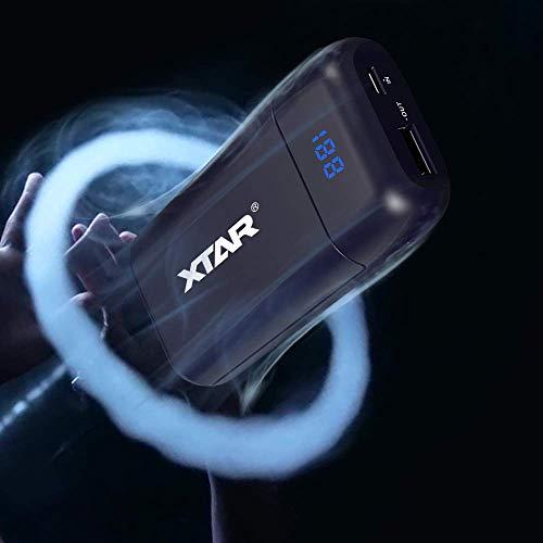 Speedy 18650 ladegerät 2 Schacht USB-Port und LED-Digitalanzeige Für Ungeschützte 18650 3.6V 3.7V Li-Ionen Batterien (Enthält keine Batterie)