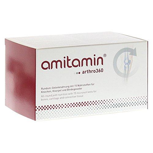 amitamin® arthro360 - Rundum-Gelenknahrung mit 15 Nährstoffen für Knochen, Knorpel und Bindegewebe, 90 Trockenkapseln und 30 Ölkapseln