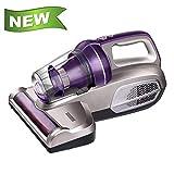 CMXSC Matratze Staubsauger Staubmilbe UV-Staubsauger, saugstark Upgrade-Handheld UV-Staubsauger, effektiv zu reinigen Bettlaken Kissen Sofa, Lila staubsauger (Color : Purple)