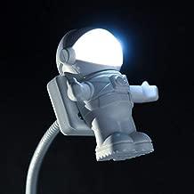 Soondar Creative Spaceman Astronaut LED Flexible USB Light for Laptop PC Notebook