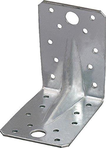 50 Stück Winkelverbinder WV mit Steg und CE Kennzeichnung 70x70x55x2,5