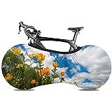 Olive Croft Spring Flowers Meadow Ranunculaceae Junio Ruedas Cubierta para Bicicleta Cubierta de Bicicleta Cubierta de Viaje para Bicicleta Ajuste Casi Todas Las Bicicletas
