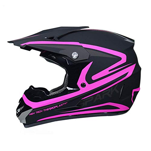 Casco Moto, Casco Motocross Casco Da Moto Per Donna, Casco Da Moto Da Cross Casco Integrale Per Adulti Casco Da Moto Casco Per Moto Da Discesa Dirt Bike