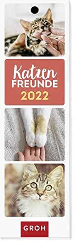 Katzenfreunde 2022: Lesezeichenkalender