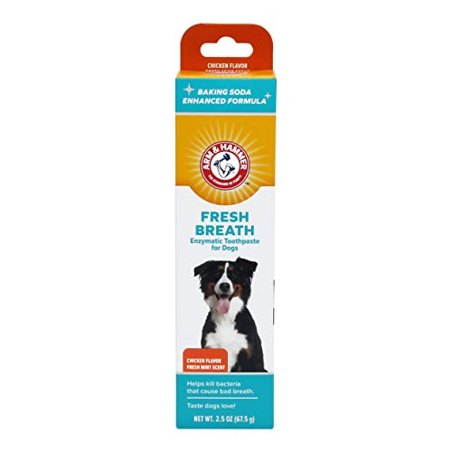 Arm & Hammer Fresh Breath Enzymatic Toothpaste for Dogs, Chicken