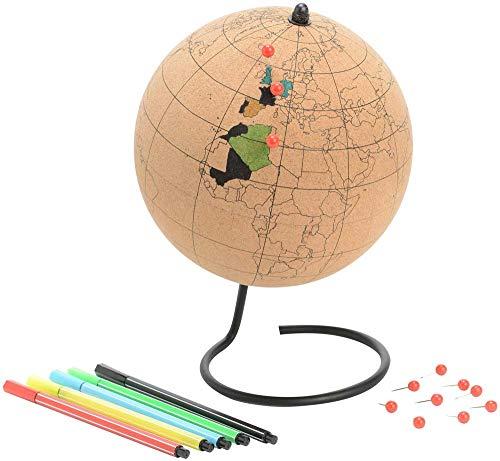 Rétro Globe à colorier, LIÈGE-MÉTAL, Moyen