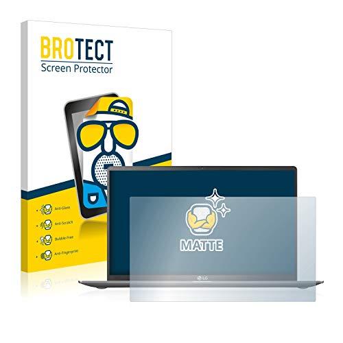 BROTECT Entspiegelungs-Schutzfolie kompatibel mit LG Gram 15'' Bildschirmschutz-Folie Matt, Anti-Reflex, Anti-Fingerprint