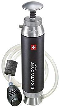 Katadyn Pocket Water Filter Black 10  2010000