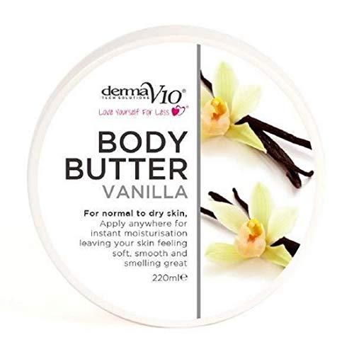 Derma Crème Beurre de Vanille Hydatation Soin du...