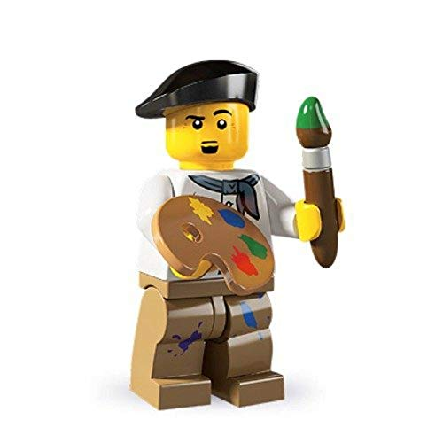 French Painter Artist - LEGO collectible Minifigure