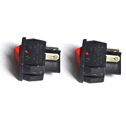 TVP Replacement for Shop Vac Vacuum Cleaner Interupter Switch (2 Switch) # 8231810