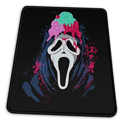 I Scream Ice Cream Alfombrilla de ratón Anti Slip Gaming Alfombrilla de ratón with Stitched Edge Computer PC Mousepad Neoprene Base for Office Home I Scream Ice Cream 10 x 12 Inch