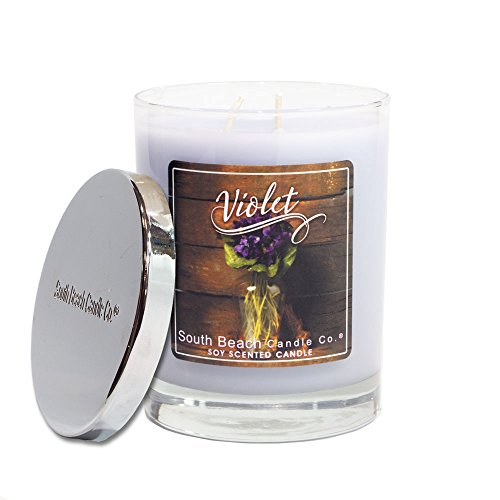 South Beach Candle Company Violet