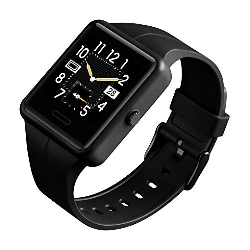 Smart Watch for Android Phones iPhone Compatible Activity Fitness Tracker Watches Health Exercise Smartwatch(Black)