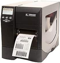 Zebra ZM400 ZM400-2001-0000T Monochrome Direct Thermal/Thermal Transfer Desktop Label Printer, 203 DPI, 4.09