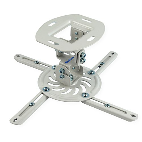 QualGear Qg-PM-002-Wht-S Projector Ceiling Mount Accessory