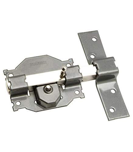 WOLFPACK LINEA PROFESIONAL 3102115 Cerrojo b-3 llave y pulsador pasador de 161mm cilindro redondo de 70mm