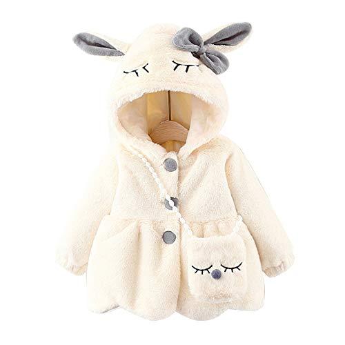LYNN Chaquetas de forro polar con capucha para beb, para nias, para bebs y nias, regalo de cumpleaos para sobrina y amigos, uso diario casual
