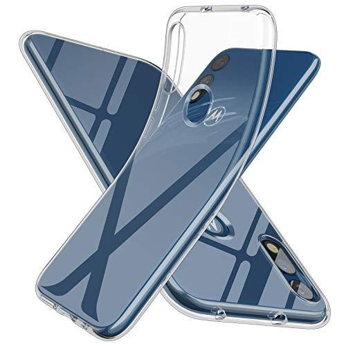 Moto E 2020 Case Slim Thin,Motorola E 2020 Case,Soft Skin Silicone Flexible TPU Gel Rubber Anti-Scratch Shockproof Protective Cases Cover for Moto E...