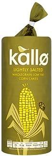 Kallo Lightly Salted Wholegrain Low Fat Corn Cake - 130 gm