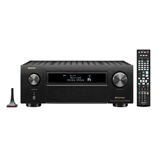 Denon AVR-X6700H 11.2-Channel 8K AV Receiver with 3D Audio and Amazon Alexa Voice Control (Factory Certified Refurbished)