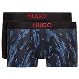 HUGO BOSS(ヒューゴボス) ローライズ ボクサーパンツ 2枚セット メンズ 下着 50403225 Open_Blue(463) S [並行輸入品]