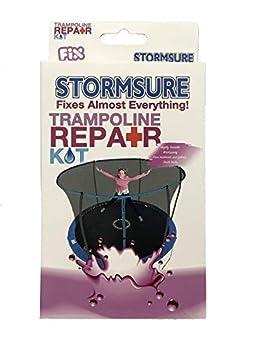 Stormsure Trampoline Kit de réparation Mixte, Claire, 140 x 90 x 22 mm