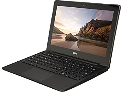 Dell ChromeBook 11 -Intel Celeron 2955U, 4GB Ram, 16GB SSD, WebCam, HDMI, (11.6 HD Screen 1366x768) (Renewed)