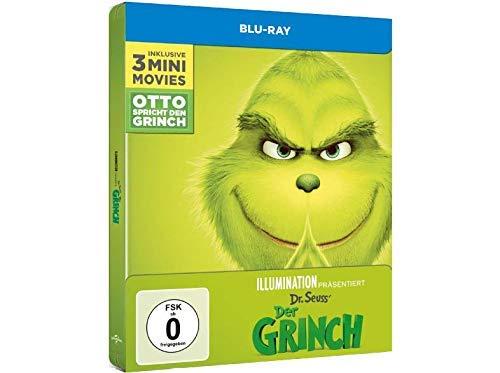 Der Grinch - Exklusives Steelbook incl. 3 Mini Movies