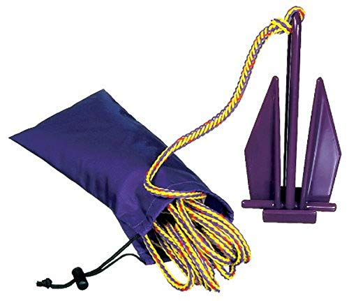 PWC Fluke Anchor, Nylon Bag, Rope