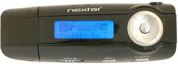 Nextar MA566-1BL 1 GB USB Digital MP3 Player BLACK