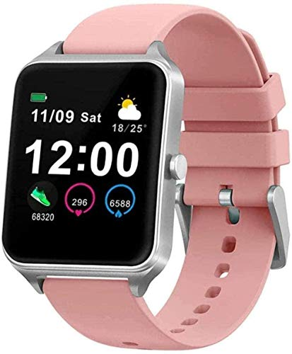 Reloj Inteligente 1 4 Pulgadas Pantalla Full Touch Color Presión Arterial Fitness Reloj de Pulsera con Monitor de Oxígeno en Sangre Podómetro-5-1-3
