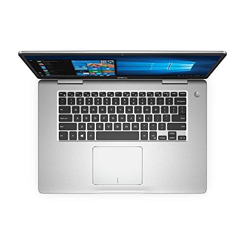"Dell i7570-7817SLV-PUS Inspiron - 8th Gen Intel Core i7 - 8GB Memory - 1TB Hard Drive - NVIDIA GeForce 940MX, 15.6"" Touch Display, Platinum Silver"