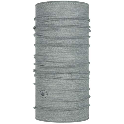 Buff Set Funktionstuch + UP Halstuch | Schlauchschal atmungsaktiv | Schal | Kopftuch | Schlauchtuch | Grey - 113010.933.10.00 | Lightweight Merino