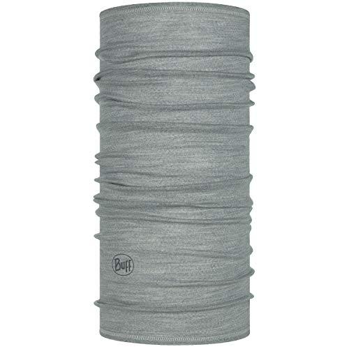 Buff Set Funktionstuch + UP Halstuch | Schlauchschal atmungsaktiv | Schal | Kopftuch | Schlauchtuch | Grey – 113010.933.10.00 | Lightweight Merino