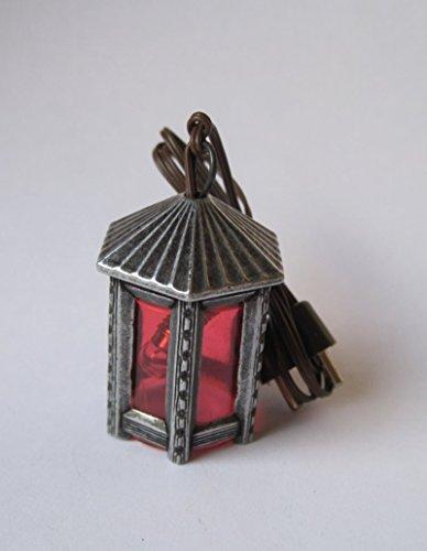 Kahlert Licht 20450 Puppenhauszubehör, Zinnfarben, rot