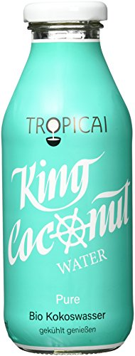 "Tropicai Bio-Kokoswasser ""Pure"", 6er Pack (6 x 350 ml)"